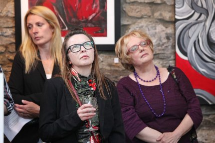DC 16/05/2014 - REPRO FREE FREE PIC Guests pictured at the official opening of the Midleton Mid May Festival at The Courtyard Gallery. Pic: Diane Cusack